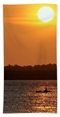 Beach Towel featuring the photograph Time To Unwind by John Glass