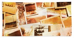 Time Worn Scenes And Places Background Beach Towel