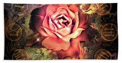 Timeless Rose Beach Towel