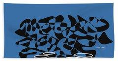 Timpani In Blue Beach Sheet by David Bridburg