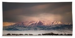 Timpanogos Rising Beach Towel