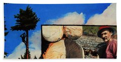 Tim's Lumber Beach Sheet by Ruanna Sion Shadd a'Dann'l Yoder
