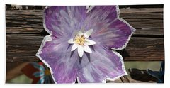 Tin Flower Beach Sheet