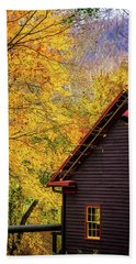 Tingler's Mill In Fall Beach Towel