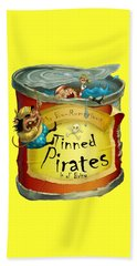 Tinned Pirates Beach Towel