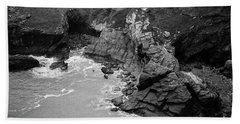 Tintagel Rocks Beach Towel