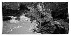 Tintagel Rocks Beach Towel