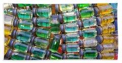 Tiny Glass Jars Beach Sheet