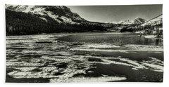 Tioga Pass Lake Ellery Early Summer Beach Towel