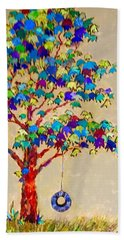 Tired Tree Beach Towel