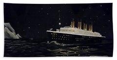 Titanic Beach Sheet