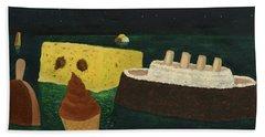 Titanic's Birthday Beach Towel