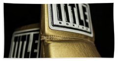 Title Boxing Gloves Beach Towel