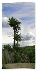 Beach Towel featuring the photograph To Kouka Cabbage Tree by Nareeta Martin