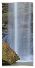 Toccoa Falls Georgia 3 Beach Towel