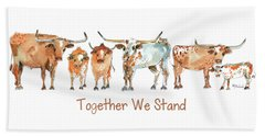 Together We Stand Lh013 Beach Towel