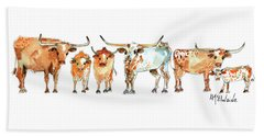 Together We Stand Watercolor By Kathleen Mcelwaine Artist Beach Towel