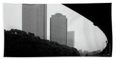 Tokyo Bridge Skyline Beach Sheet