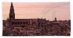 Toledo Cathedral Beach Towel