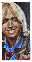 Tom Petty Beach Towel