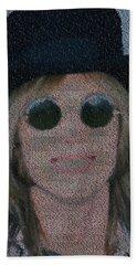 Tom Petty Song List Mosaic Beach Towel