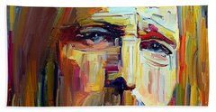 Tom Petty Tribute Portrait 4 Beach Towel