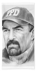 Tom Selleck Beach Towel