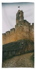 Tomar Castle, Portugal Beach Sheet