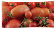 Beach Towel featuring the photograph Tomato Mix by James BO Insogna