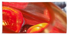 Tomatoe Red Beach Towel