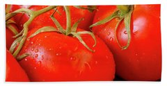 Tomatoes On The Vine Beach Towel