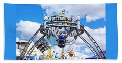 Beach Sheet featuring the photograph Tomorrowland by Greg Fortier