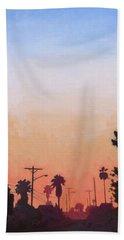 Tonal Hollywood Beach Towel by Andrew Danielsen
