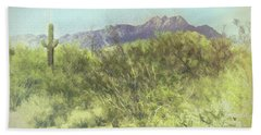 Tonto National Forest Beach Towel