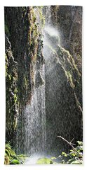 Tonto Waterfall Splash Beach Towel