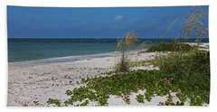 Beach Sheet featuring the photograph Too Much Space Between Us by Michiale Schneider