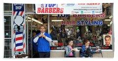 Top Barbers Beach Sheet