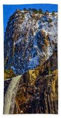 Top Of Bridalveil Falls Beach Towel