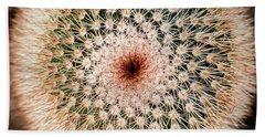 Top Of Cactus Beach Towel