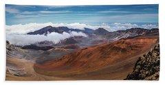 Top Of Haleakala Crater Beach Towel