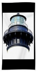 Top Of The Lighthouse Beach Sheet by Shelia Kempf