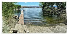 Topaz Landing Boat Launch Beach Towel