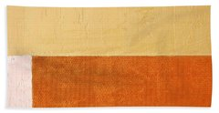 Topaz Pink Orange Beach Towel