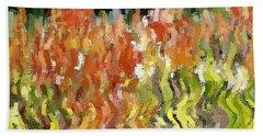 Torch Lilies Beach Sheet