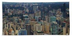 Toronto Canada Beach Towel
