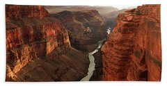 Toroweap In Grand Canyon Beach Towel