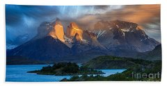 Torres Del Paine National Park, Chile Beach Sheet
