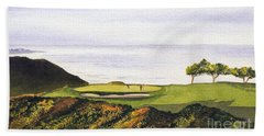 Torrey Pines South Golf Course Beach Towel