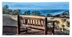 Torrey Pines View Beach Towel