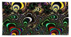 Torus Spirals Beach Towel